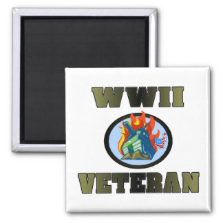 WWII Veteran Magnets