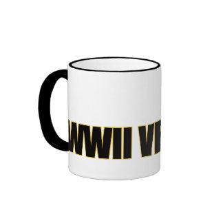 WWII Veteran Ringer Mug