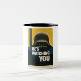 WWII Vintage Poster Mug