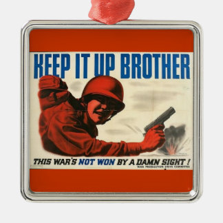 WWII Vintage Poster Ornament