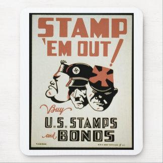 WWII War Bonds Mousepad