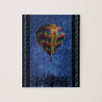 WWJD Air Balloon Jigsaw Puzzle