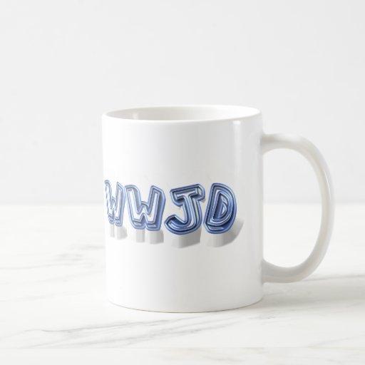 wwjd coffee mugs