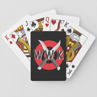 WWK Playing Cards