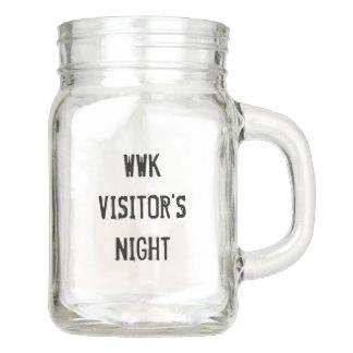 WWK Visitor's Night 12oz Glass Mug