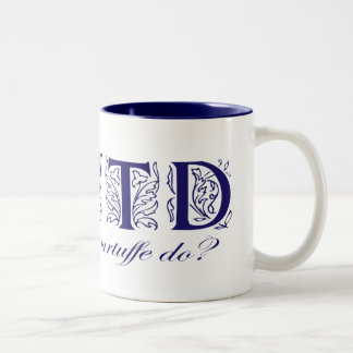 WWTD? Two-Tone COFFEE MUG