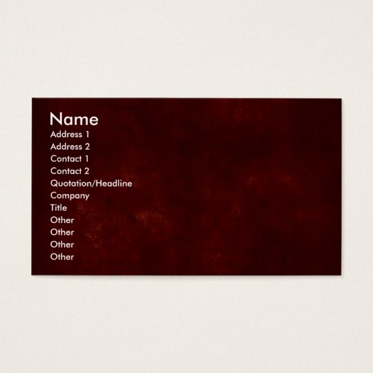 www.Garcya.us_rusted_red_seamless_3, Name, Addr... Business Card