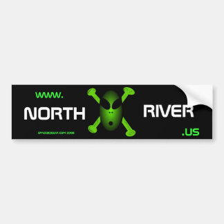 www.NorthRiver.US Bumper Sticker