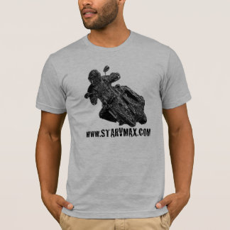 www.starVmax.com Chrome Design T-Shirt