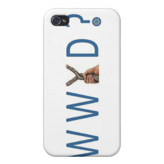 WWYD?  What would Yeshua Do? iPhone 4 Covers