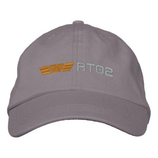 WY RT02 combined logo png Embroidered Baseball Cap