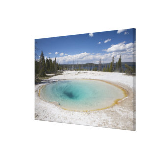 WY, Yellowstone National Park, West Thumb Geyser Canvas Print