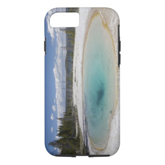 WY, Yellowstone National Park, West Thumb Geyser iPhone 8/7 Case