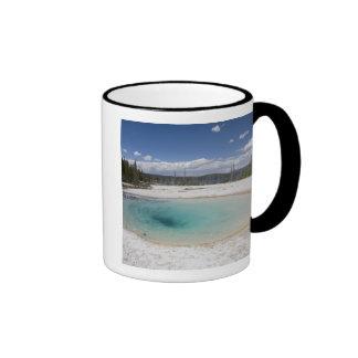 WY, Yellowstone National Park, West Thumb Geyser Ringer Mug