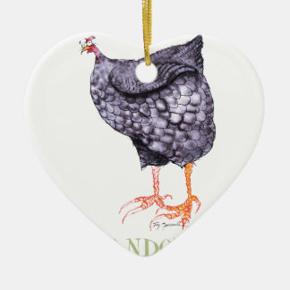WYANDOTTE HEN, tony fernandes Christmas Ornament