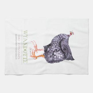 WYANDOTTE HEN, tony fernandes Tea Towel