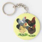 Wyandotte:  Rooster Assortment Key Ring