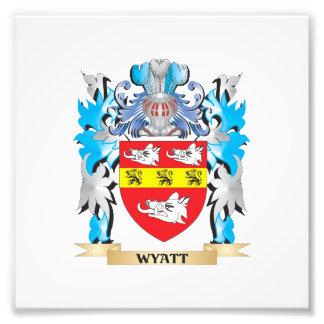 Wyatt Coat of Arms - Family Crest Photo Print
