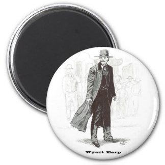 Wyatt Earp 6 Cm Round Magnet