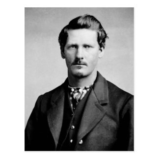 Wyatt Earp American Lawmen Old West Portrait Postcard