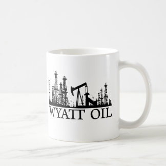 Wyatt Oil / Black Logo Coffee Mug