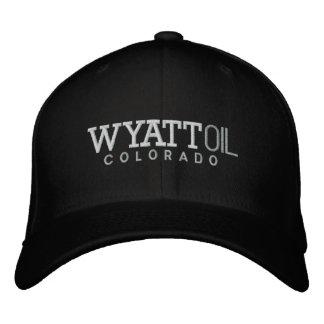 Wyatt Oil Embroidered Hat