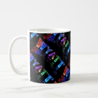 Wyatt  - The Name Wyatt in 3D Lights (Photograph) Coffee Mug