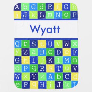 Wyatt's Personalized Blanket Baby Blankets