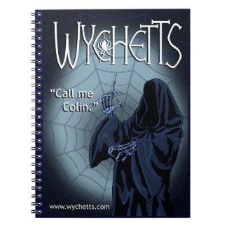 Wychetts Notebook- The Dark One Notebook
