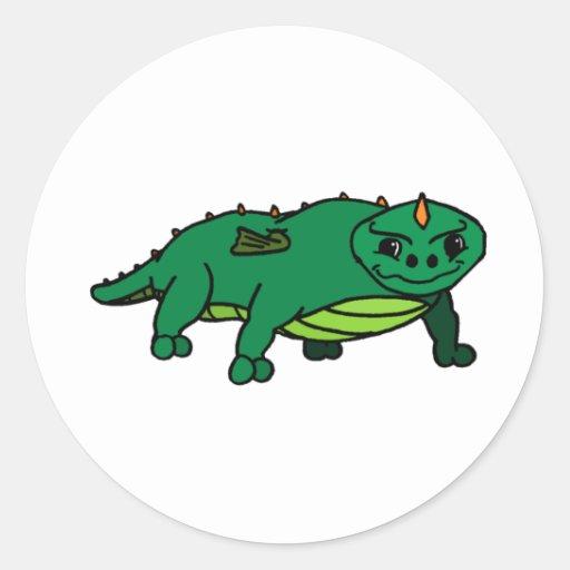 Wyde Round Sticker