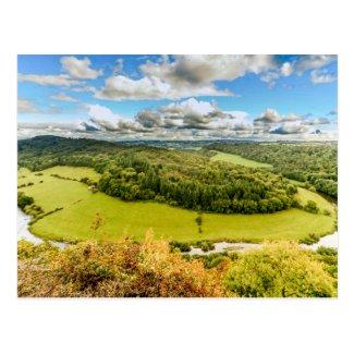 Wye Valley Postcard