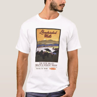 Wye Valley Resort British Rail Poster T-Shirt