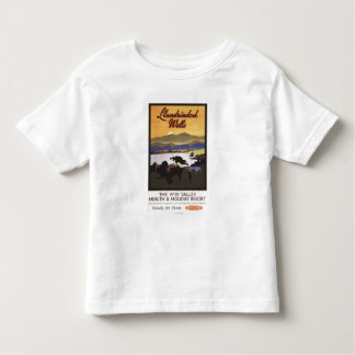 Wye Valley Resort British Rail Poster Toddler T-Shirt