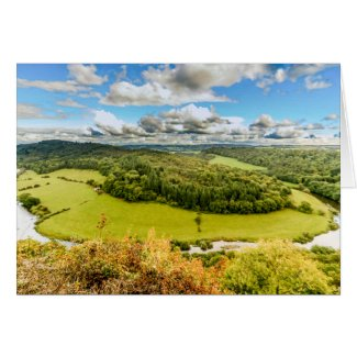 Wye Valley View Card