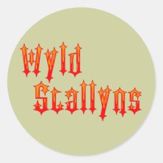 Wyld Stallyns Round Sticker