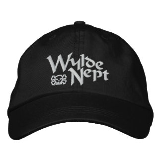 Wylde Nept Jolly Roger Embroidered Cap