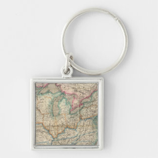 Wyld's Military Map Of The United States Key Ring