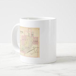 Wymore and Filley, Nebraska Large Coffee Mug