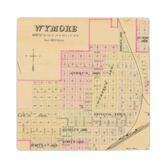 Wymore and Filley, Nebraska Wood Coaster
