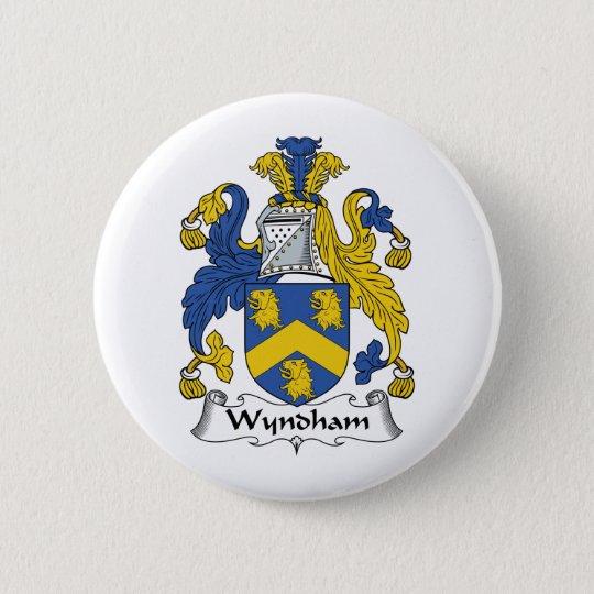 Wyndham Family Crest 6 Cm Round Badge