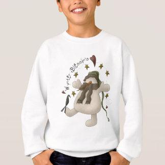 Wynter Blessin's Snowman Kid's Sweatshirt