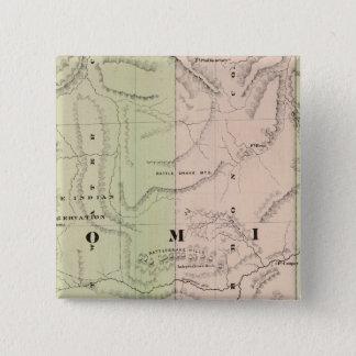 Wyoming 2 15 cm square badge