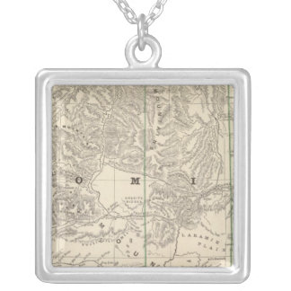 Wyoming 2 silver plated necklace