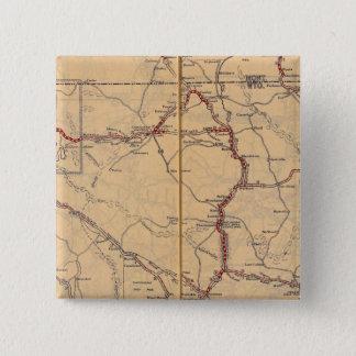 Wyoming 4 15 cm square badge