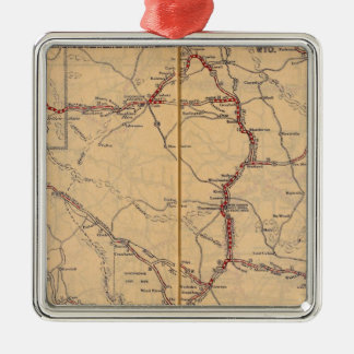 Wyoming 4 christmas ornament