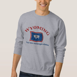 Wyoming - A Rectangle State Sweatshirt