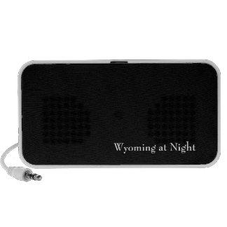 Wyoming at Night Travelling Speakers