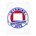 Wyoming Bachmann Announcements