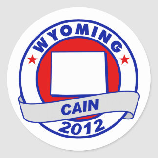 Wyoming - Cain Sticker
