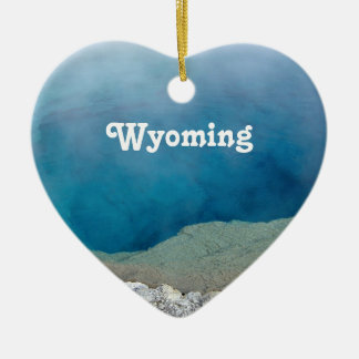 Wyoming Christmas Ornament